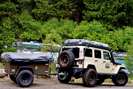 Jeep Camping Trailer