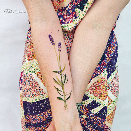 Pis Saro Nature Inspired Tattoos