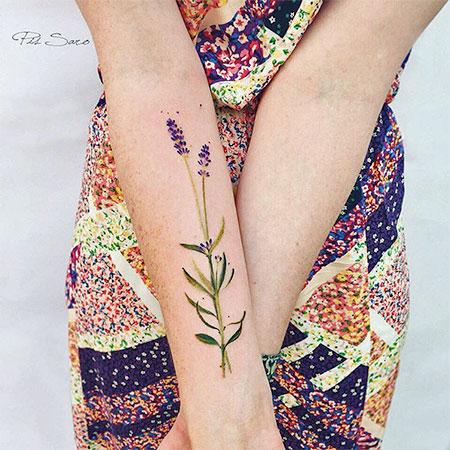 Pis Saro Nature Inspired Tattoos