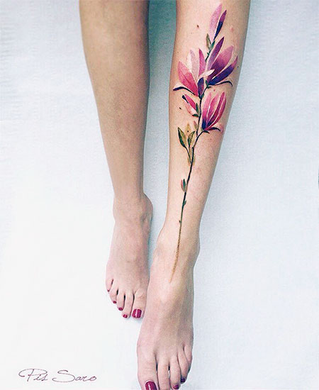 Pis Saro Nature Inspired Tattoo
