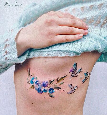 Pis Saro Plant Tattoo