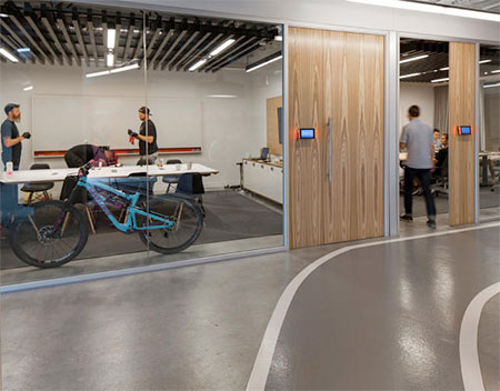 Office with Bike Lanes