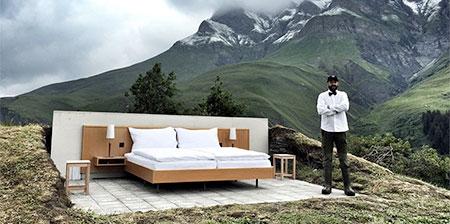 Outdoor Hotel Room