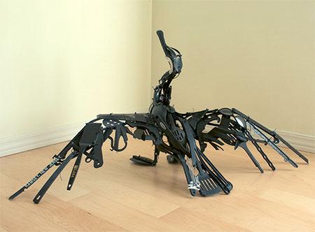 Japanese artist Sayaka Ganz
