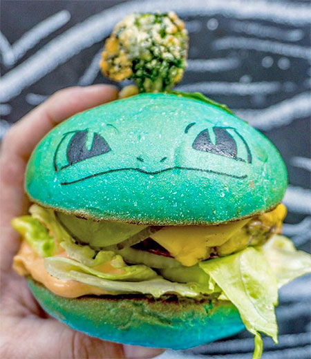 Pokemon Go Burgers