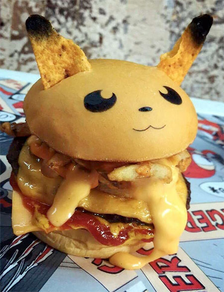 Pokemon Go Burger