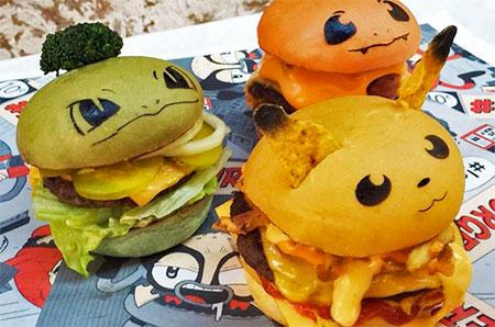 Pokemon Hashtag Burgers