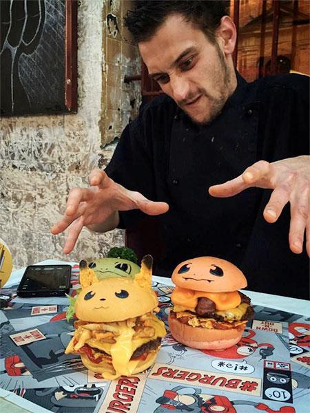 Pokemon Down-N-Out Burgers