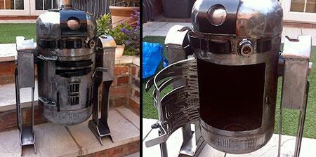 Star Wars R2-D2 Stove