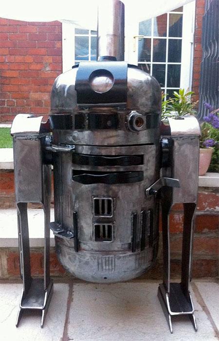 R2-D2 Wood Burning Stove