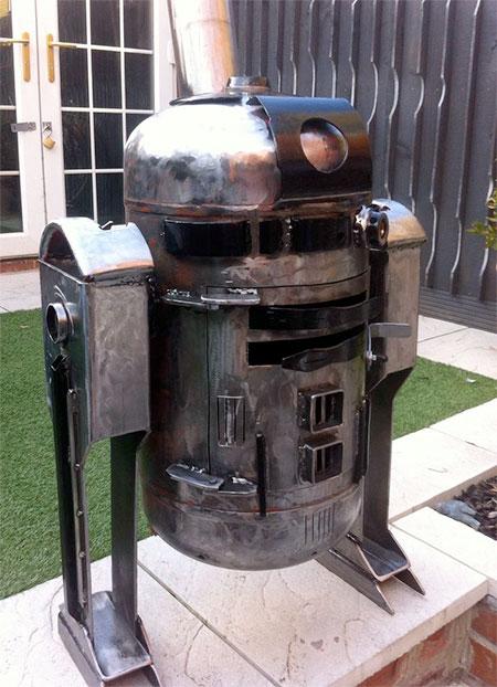 R2-D2 Droid Stove