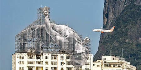 Olympic Athletes on Buildings