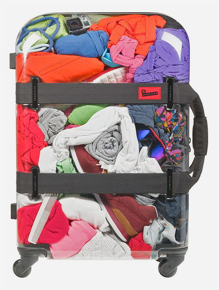See-Through Suitcase