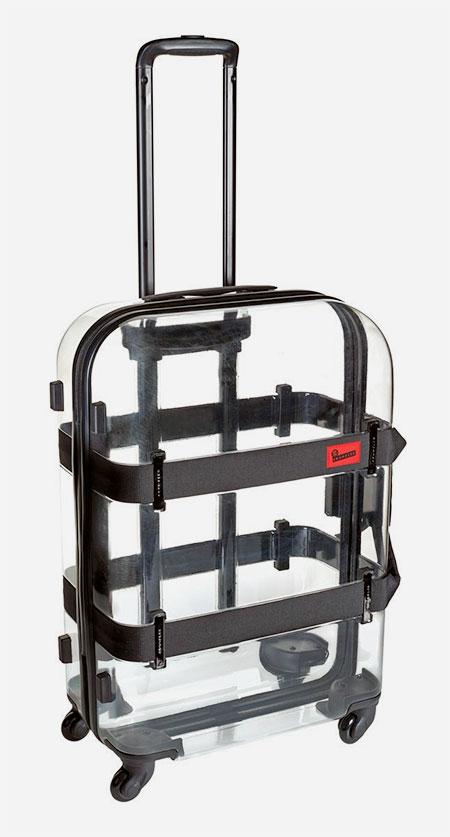Transparent Rolling Suitcase