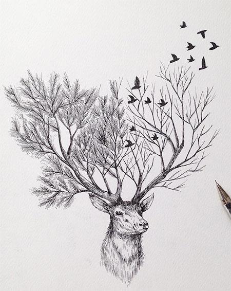 Tree Deer