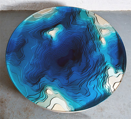 Abyss Round Coffee Table
