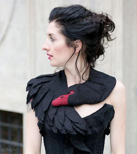 Black Swan Scarf