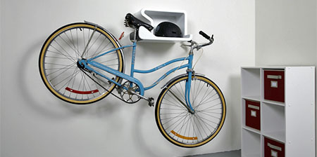 Bicycle Holder Shelf