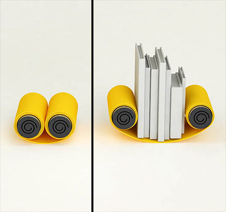 Scroll Bookends