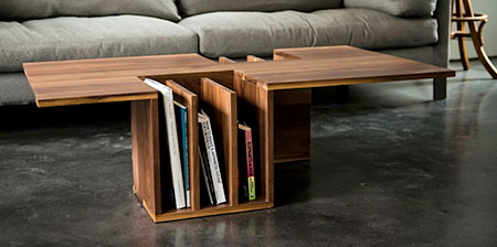Bookshelf Coffee Table