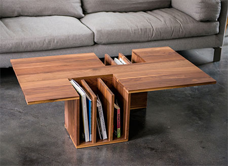 Brand-new Bookshelf Coffee Table RT72