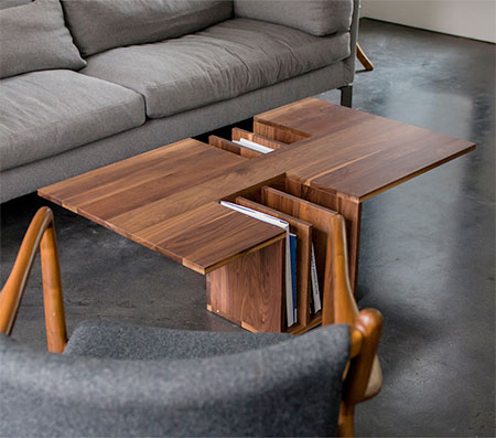 Endri Hoxha Bookshelf Table