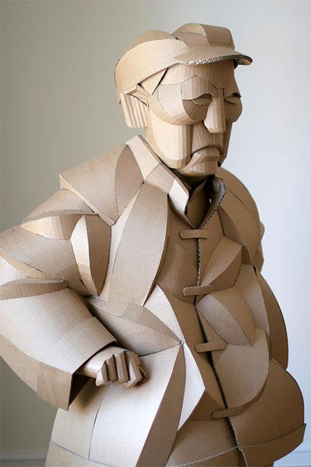 Cardboard Human
