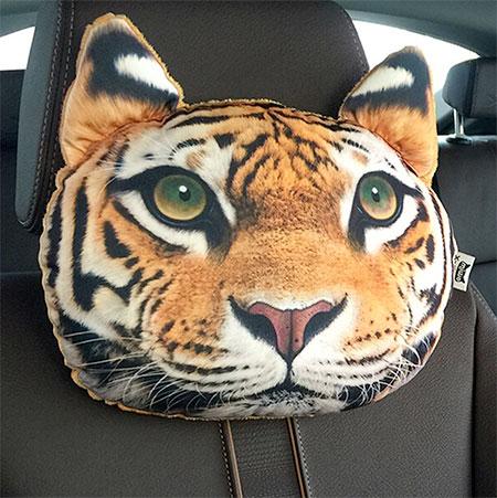 Cat Headrest Pillows
