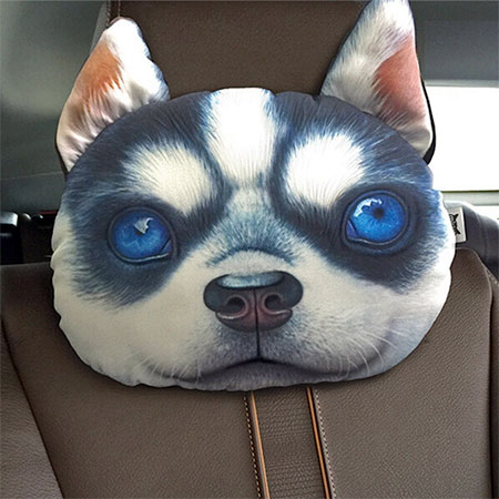 Dog headrest pillows