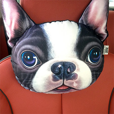 Dog Car Headrest