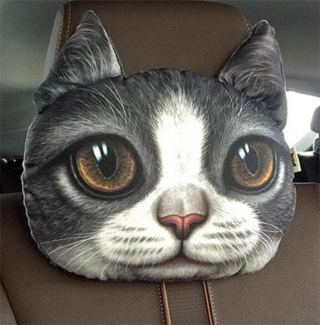 Cat Headrest