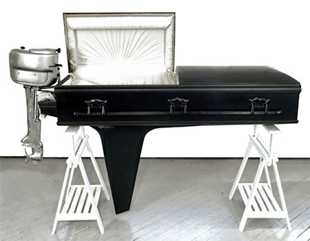 Sebastian Errazuriz Boat Coffin