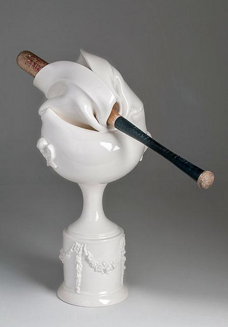 Broken Porcelain Vases