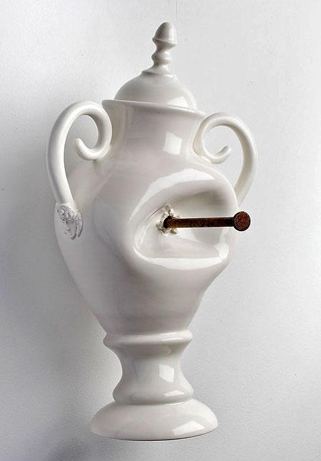 Destroyed Porcelain Vase