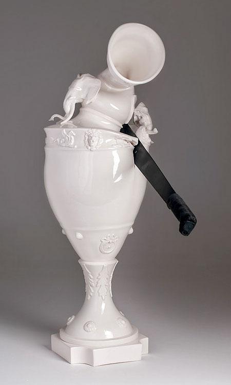 Broken Porcelain Vase