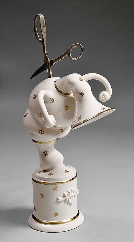 Laurent Craste Destroyed Porcelain