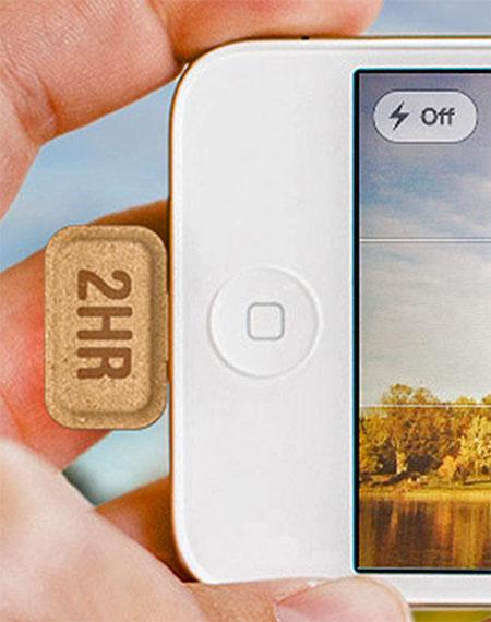 Cardboard iPhone Battery