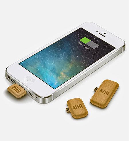 Cardboard iPhone Batteries