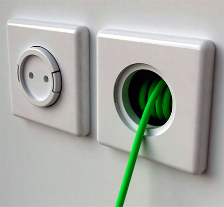 Socket with Extension Cord