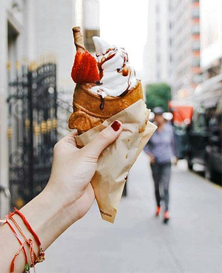 Fish Ice Cream Cone
