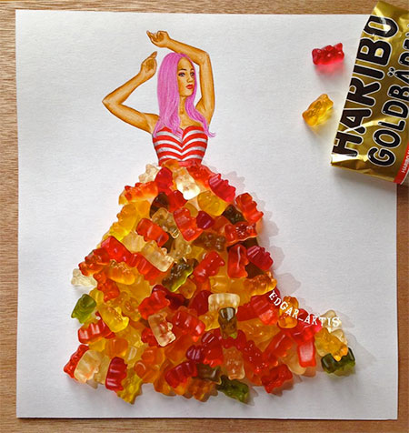 Food Art Dresses
