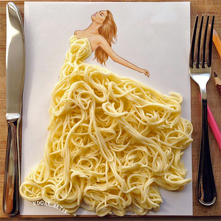 Edgar Artis Food Dresses