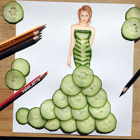 Edgar Artis Food Art
