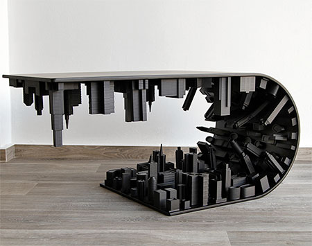 Black Inception Table