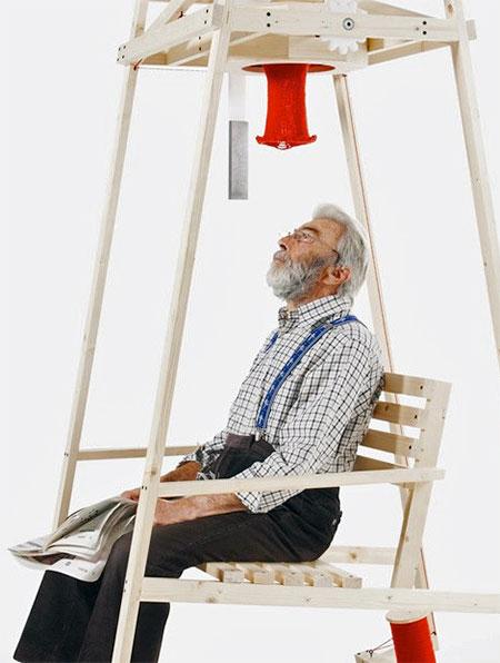 Knitting Rocking Chair