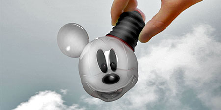 Mickey Mouse Light Bulb