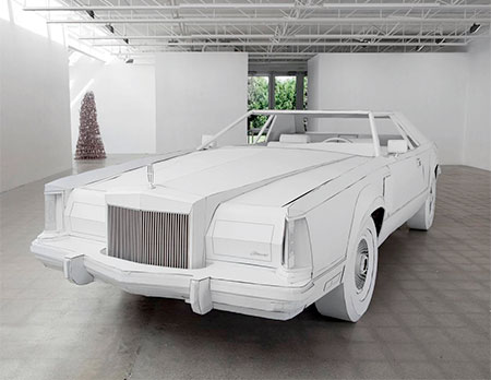 Car Made of Paper