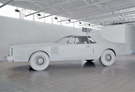 Car Made out of Paper