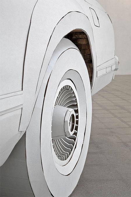 Shannon Goff Paper Car