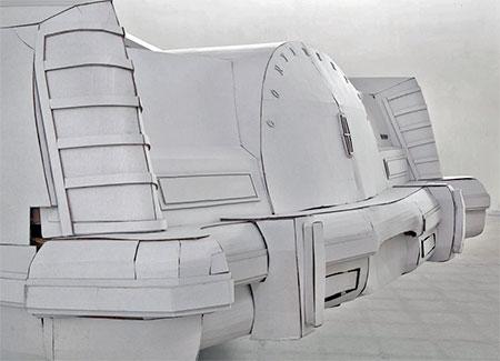 Shannon Goff Cardboard Car